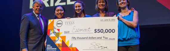 Essmart wins the Dell Social Innovation Challenge Grand Prize!