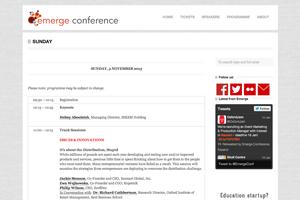 2013.11.03 Distribution Emerge Screenshot
