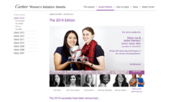 2014.10.16 Cartier Women's Initiative Awards Laureates