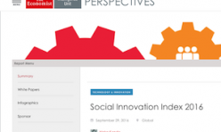 2016.09.29 Economist Social Innovation Index